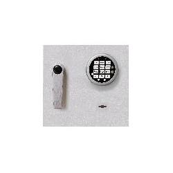 Elektroniczny zamek DFS SB 12 mm wystający, z awaryjnym otwieraniem zamkiem kluczowym
