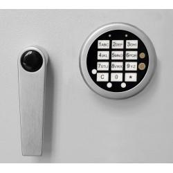 Zamek elektroniczny z otwieraniem awaryjnym (GST S plus) w zamian za zamek kluczowy 43021