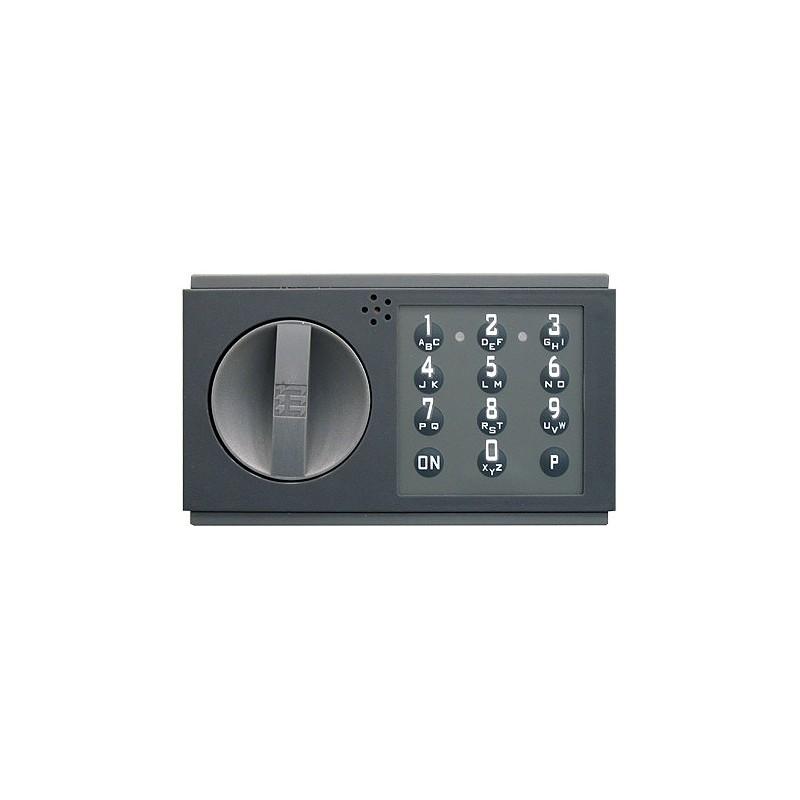 Zamek elektroniczny bez otwierania awaryjnego(Code-Kombi K), bez rygla 33014