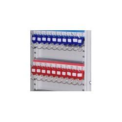 Breloczki do kluczy, 10 szt., sortowane wg koloru, czerwony, niebieski, czarny, zielony i żółty 22025