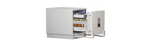 Sejfy ognioodporne na nośniki danych w klasie S60DIS - 60 minut odporności na ogień w temperaturze 840° C