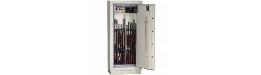 Sejfy i szafy na broń ognioodporne w klasie S120P - 120 minut odporności na ogień w temperaturze 1090° C